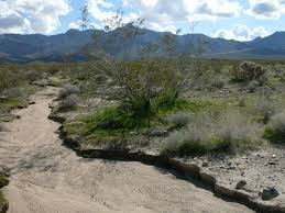 File Dry river bed in California Wikimedia mons