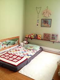 Montessori Floor Bed Montessori Bed That Sit On The Floor Double ...
