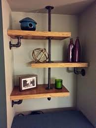 shelf ideas built with industrial pipe how to build a unit diy lack wall heavy duty shelving unit how to build