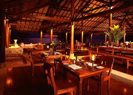 Restaurant, Amanwana, Moyo island