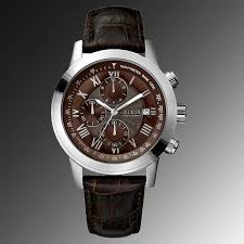 guess watches guess diamond watches guess man watch guess style 100% authentic guess watch men s brown leather strap u12574g2