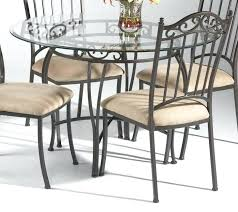 glass top dining table set 4 chairs glass top kitchen table round glass dining table set