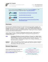 information architect resume john vaughan resume 2013