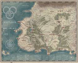 wheel of time map  wot