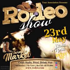 Rodeo Mostrar Plantilla De Video | Postermywall