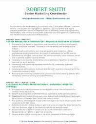 produce resumes marketing coordinator resume samples qwikresume