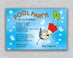 Pool Party Invitations Free Printable Capriartfilmfestival
