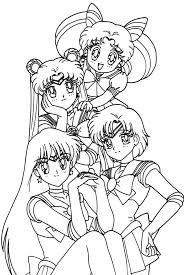 Coloring Pages Free Coloring Pages Of Anime Girl Anime Coloring