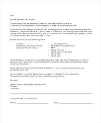 Confirm Letter Of Employment Job Appointment Letter Format Employment Work Intimation
