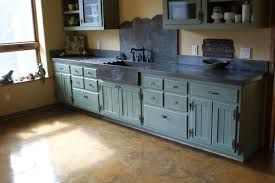 Cast Concrete Sinks And Solid Wood CountertopsConcrete Sink Kitchen