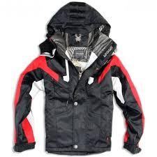 der kids ski jackets in black der jackets exclusive