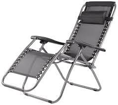 Elite Zero Gravity Relax Recliner Folding Chair Black Amazon In