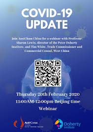 Check spelling or type a new query. Webinar First Scientists To Grow And Share Covid 19 With World Austcham China
