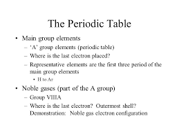Chemical Periodicity Chapter 6. Chemical Periodicity The periodic ...