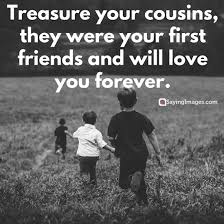 Quotes About Cousin Friendship