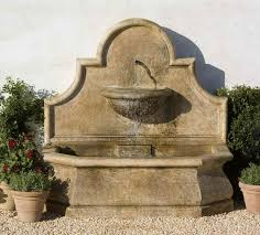 7 best stone wall fountains images on concrete wall fountain