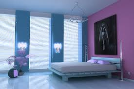 Purple Paint Colors For Bedrooms Remarkable Purple And Blue Room Ideas Interior Moesihomes