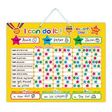 How To Do A Reward Chart Buy I Can Do It Magnetic Responsibility And Reward Chart