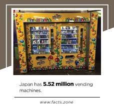 Facts About Vending Machines Best Facts Zone Japan Has 48482 Million Vending Machines