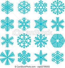 Christmas Snowflakes Pictures Flat Design Christmas Snowflakes