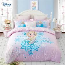 details about frozen elsa bedding set for kids comforter duvet covers twin size bedroom decor