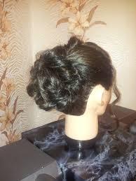 Разработка и описание вечерней прически на длинных волосах с  Рис 7 Выполнение прически