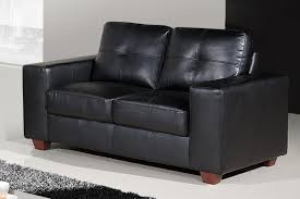 full size of seat chairs alluring black leather couches solid wood frame material tufted black leather sofa