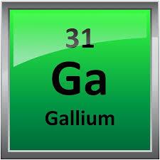 Gallium Element Symbol - Periodic Table