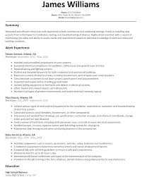 Impressive Residential Electrician Resume For Your Industrial