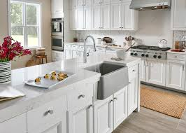 Timeless White Kitchen Design A Timeless Gray White Kitchen Vision Board With Blanco