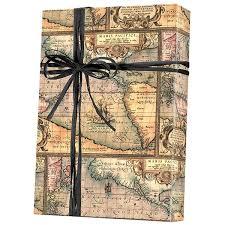 Small Picture Shamrock Gift Wrap World Map Pattern E 5400