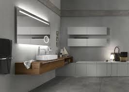 view gallery bathroom modular system progetto. View In Gallery Sleek Floating Wooden Vanity Of The Progetto Modular System Bathroom Decoist