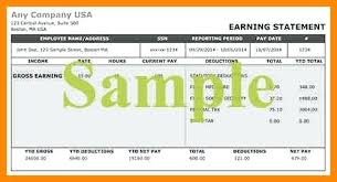 Pay Stub Samples Free Best Free Pay Stub Template With Calculator Printable 48 Cteamco