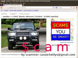 Vehicle Shipping Scams! Updated 02/26-02/2714 | Vehicle Scams ...