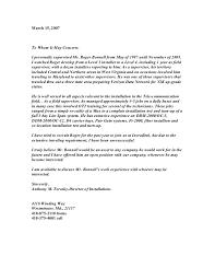 Letter Of Recommendation Supervisor Letter Of Recommendation From Old Supervisor Verizon Retiree