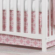 Crib Skirt Pattern Fascinating Liz And Roo Fine Baby Bedding Metro Crib Skirt Walmart