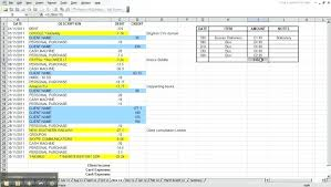 Personal Finances Spreadsheet Personal Budget Spreadsheet Template Finance Excel Financial