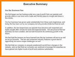 executive summary example business executive business summary military bralicious co