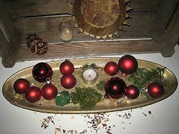 Weihnachsbaumschmuck 11 Kugel Rot Christbaumschmuck