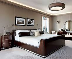 Bedroom:Inspiring Contemporary Bedroom With Golden Walls For Masculine Style  Bedroom Cool Small Masculine Bedroom