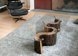 outstanding diy tree trunk coffee table diy tree trunk coffee table into glass create your own