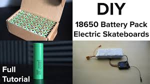 diy electric skateboard build better than a boosted board diy 18650 battery pack