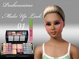 sims 3 makeup lipstick eyeliner blush eyeshadow