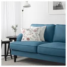 Blue Sofa Stocksund Sofa Ljungen Blue Light Brown Ikea