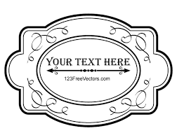 ornate frame vector graphics by 123freevectors