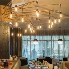 custom restaurant lighting viso beaumont kitchen oliver and bonacini