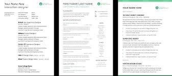 Ux Designer Resume Complete Guide To UX Resumes 24 Free Templates UX Beginner 2