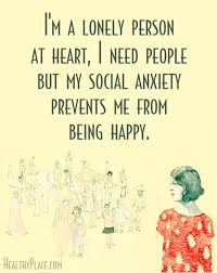Social Anxiety Quotes Classy Quotes On Anxiety HealthyPlace