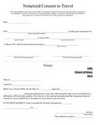 child travel with one parent consent form notarized letter for child travel letter of recommendation