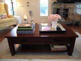 coffee table top ideas nice decorating a square coffee table cool home design gallery ideas wood